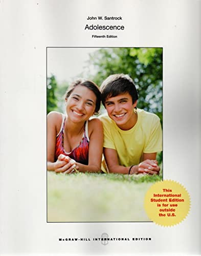 9781259060847: Adolescence (Int'l Ed)