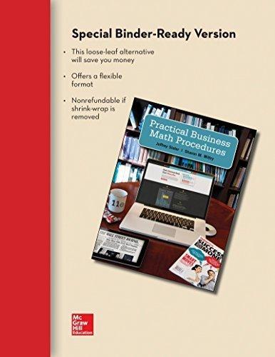 9781259060885: Practical Business Math Procedures