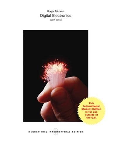 9781259060922: Digital Electronics: Principles and Applications (Int'l Ed)