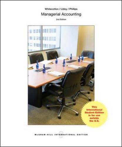9781259060946: Managerial Accounting