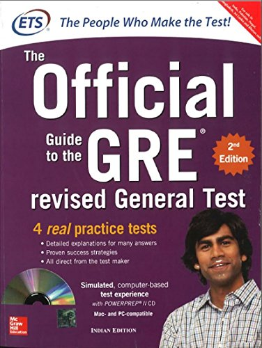 9781259061080: GRE The Official Guide to the Revised General Test (With CD ROM)