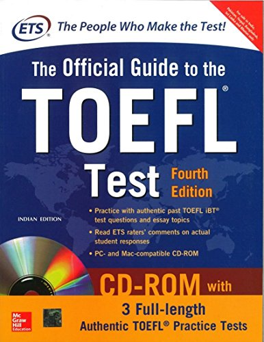 9781259061097: The Official Guide to the TOEFL Test With CD-ROM, 4th Edition