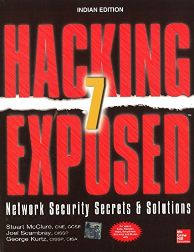 9781259061158: FAST SHIP - MCCLURE 7e Hacking Exposed 7: Network Security Secrets & Solutio R48