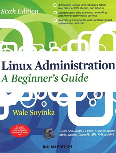 9781259061189: Linux Administration: A Beginners Guide 6Th Edition