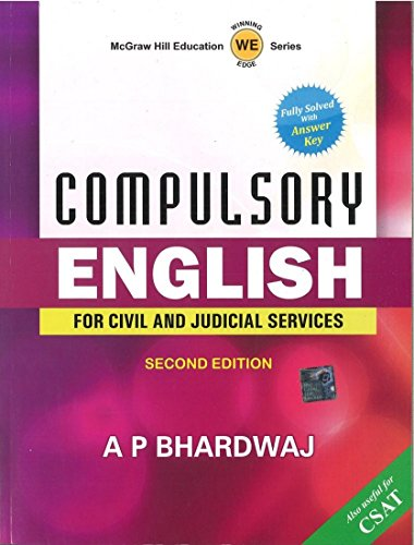 9781259064081: COMPULSORY ENGLISH FOR CIVIL AND JUDICIAL SERVICES