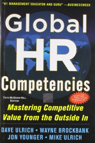 9781259064531: Global HR Competencies : Mastering Competitive Value from the Outside In