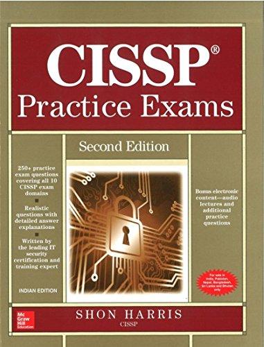 9781259064555: CISSP PRACTICE EXAMS, SECOND EDITION