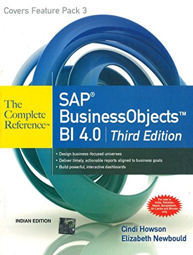 9781259064562: SAP Business Objects BI 4.0: The Complete Reference: 3rd Edition