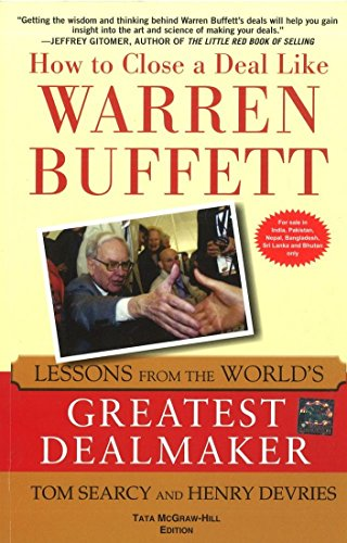 9781259064586: HOW TO CLOSE A DEAL LIKE WARREN BUFFETT: LESSONS FROM THE WORLD'S GREATEST DEALMAKER