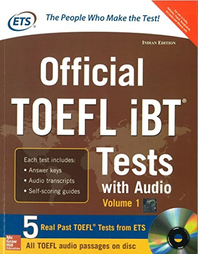 9781259064616: Official TOEFL iBT Tests with Audio Volume - 1 (With CD) PB