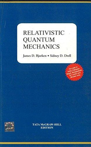 9781259064623: Relativistic Quantum Mechnaics (Pb 2013)