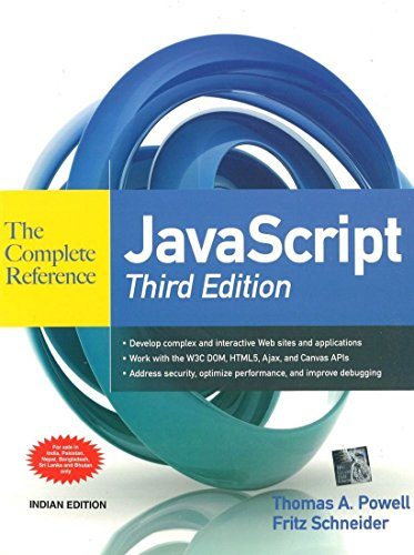 9781259064685: Javascript: The Complete Reference 3rd Edition