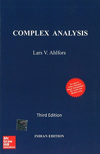 Complex Analysis, 3rd Edition: Ahlfors Lars V.