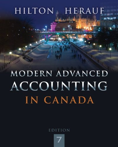 9781259066481: Modern Advanced Accounting in Canada 7e [Electronic]