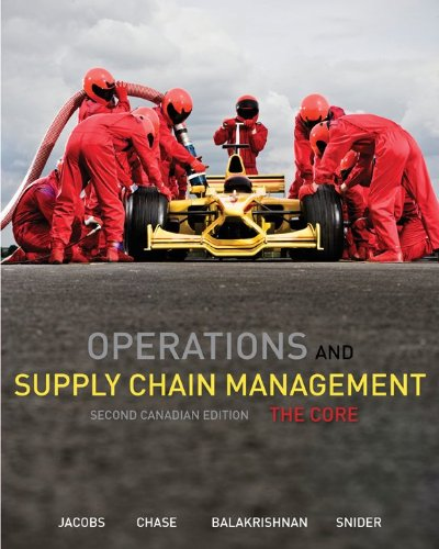 9781259066603: Operations and Supply Chain Management: The Core with Connect Access Card