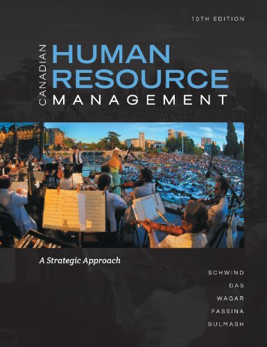 9781259066665: Canadian Human Resource Management with Connect Access Card: A Strategic Approach