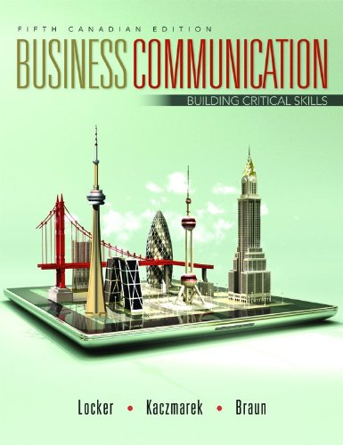 9781259066917: Business Communication with Connect Access Card: Building Critical Skills