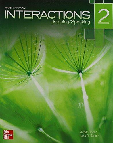 9781259070358: INTERACTIONS 2 (INCLUYE CD)