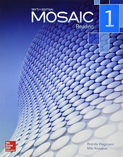 9781259070365: MOSAIC 1 READING CON CD