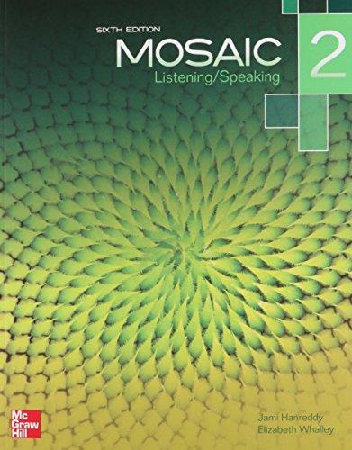 9781259070396: Mosaic 2 Listening & Speaking Student Bo