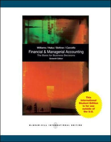 9781259071003: Financial and Managerial Accounting