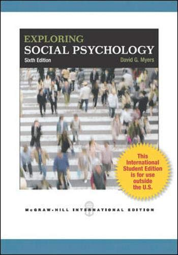 9781259071027: Exploring Social Psychology