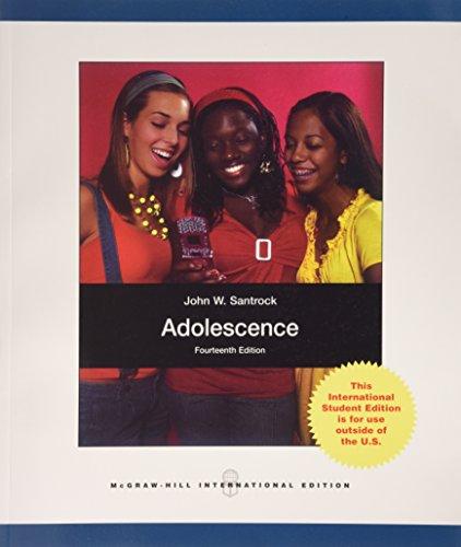 Adolescence: Santrock, John W.