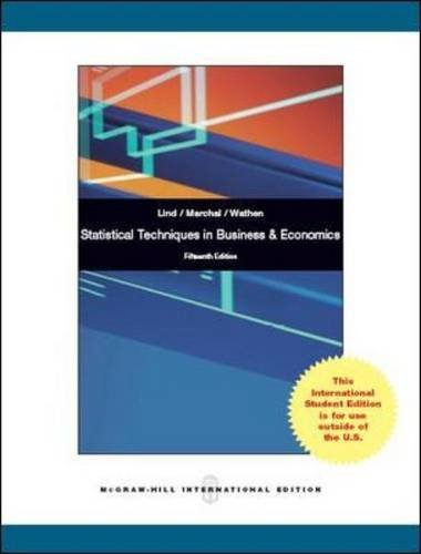 9781259071591: Statistical Techniques in Business and Economics