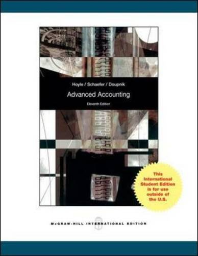 9781259071720: Advanced Accounting