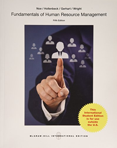 9781259071980: Fundamentals of Human Resource Management