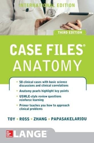 9781259072369: Case Files Anatomy (Asia Professional Medical Exam Review)