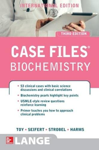 9781259072376: Case Files: Biochemistry (Int'l Ed) (Asia Professional Medical Exam Review)