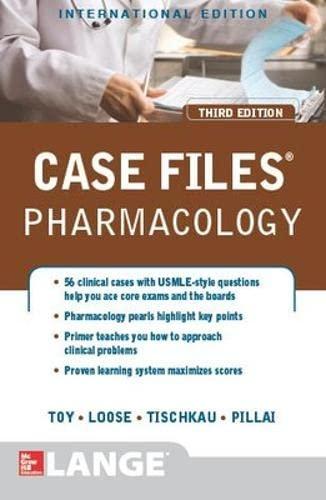 9781259072390: Case Files Pharmacology, 3/e (Int'l Ed)