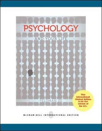 9781259072550: Psychology and Your Life (Int'l Ed)