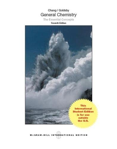 9781259073762: General Chemistry The Essential Concepts