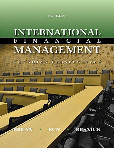 9781259075438: International Financial Management: Canadian Perspective