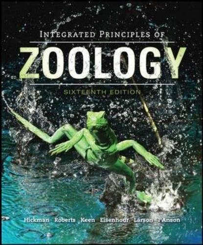 9781259080784: Integrated Principles of Zoology
