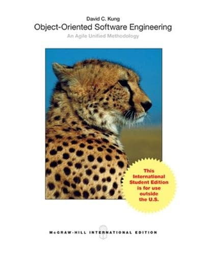 9781259080791: Object-Oriented Software Engineering: An Agile Unified Methodology (Int'l Ed)