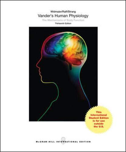 9781259080821: Vander's human physiology (Medicina)