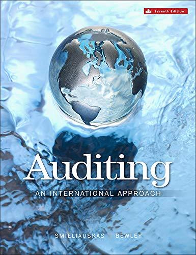 9781259087462: Auditing: An International Approach