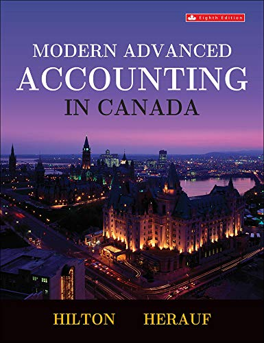 9781259087554: Modern advanced accounting in Canada