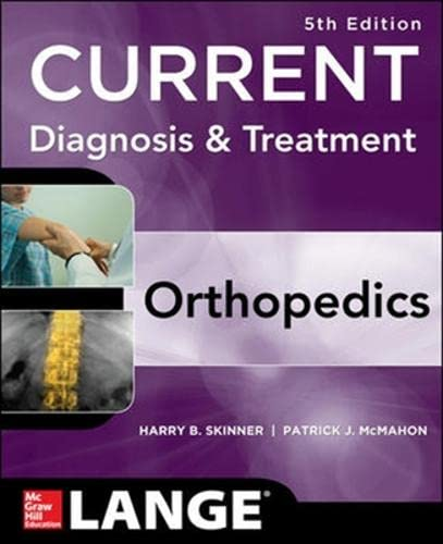9781259094705: CURRENT Diagnosis & Treatment in Orthopedics, Fifth Edition (Int'l Ed)