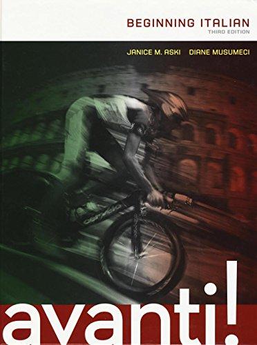 9781259094781: Avanti: Beginning Italian