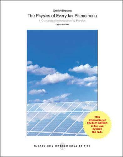 9781259094859: Physics of Everyday Phenomena (Int'l Ed)