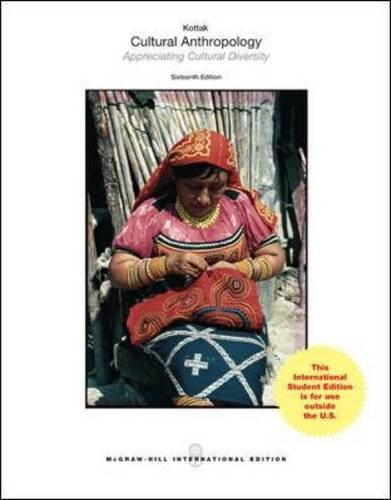 Cultural Anthropology (Int'L Ed): McGraw Hill Higher
