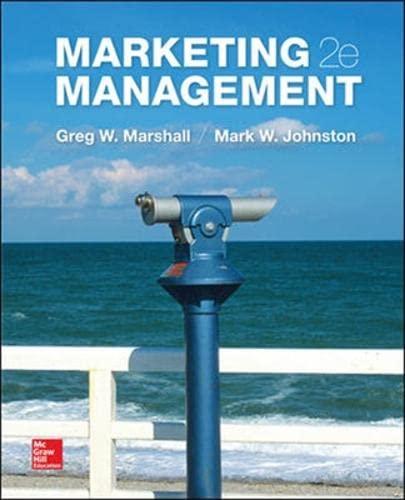 9781259094972: Marketing Management (Int'l Ed)