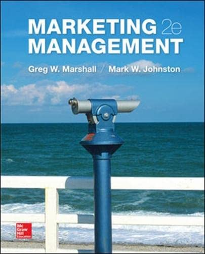 9781259094972: Marketing Management (Int'l Ed) (College Ie Overruns)