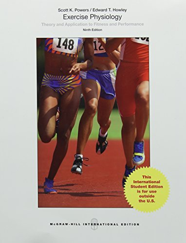 9781259095009: Exercise Physiology: Theory and Application to Fitness and Performance (Int'l Ed) (College Ie Overruns)