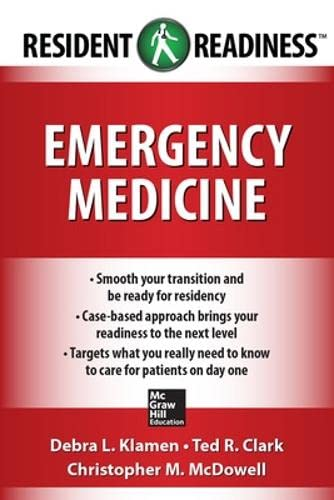 9781259095108: Resident Readiness Emergency Medicine (Int'l Ed)