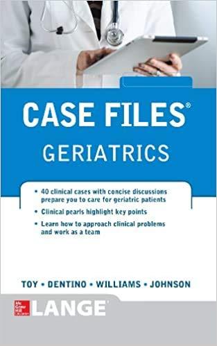 9781259095153: ISE CASE FILES GERIATRICS